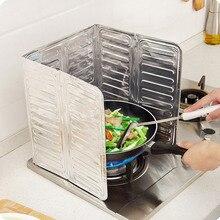 Кухонное приготовление пищи жарка, защита от брызг масла, газовая плита, Мочалка для удаления жира, ржавчины, плита, кухонная плита, всплеск, сковорода, запчасти