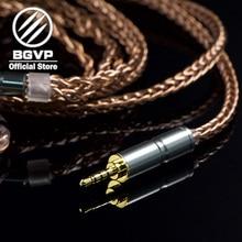 BGVP 6N 400 core наушники кабель 2,5 мм 3,5 мм DIY Кабель aficionados MMCX сменный Hifi кабель для наушников DM6
