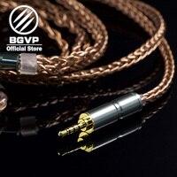 BGVP 6N 400 core earphones OCC cable 2.5mm 3.5mm DIY cable aficionados MMCX interchangeable Hifi Headphone upgrade cable DM6