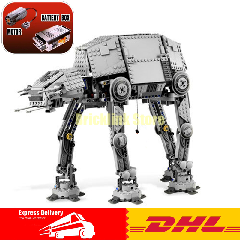 IN STOCK LEPIN 05050 Star Series War AT-the AT Robot Electric Remote Control Building Blocks Toys Kids Gift Bricks Toys 10178 rollercoasters the war of the worlds