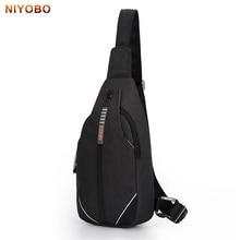 NIYOBO Crossbody Bags for Men&Female Messenger Chest Bag Sling bag Large Capacity Anti-Theft Crossbody Chest Pack Bag PT1087-1