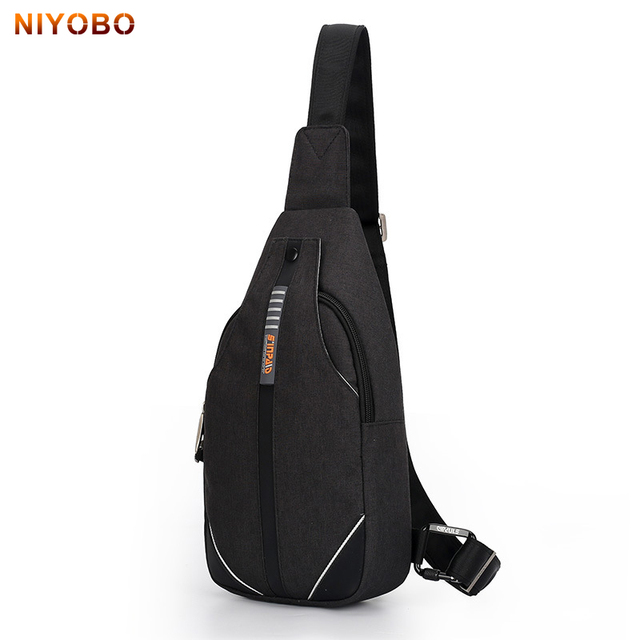 49445b751c NIYOBO Crossbody Bags for Men&Female Messenger Chest Bag Sling bag Large  Capacity Anti-Theft Crossbody Chest Pack Bag PT1087-1