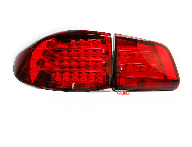 Taillight For Volkswagen VW Tiguan 2009-2013 Rear  Tail Light Lamp Bmw Style Error Free hot sale abs chromed front behind fog lamp cover 2pcs set car accessories for volkswagen vw tiguan 2010 2011 2012 2013