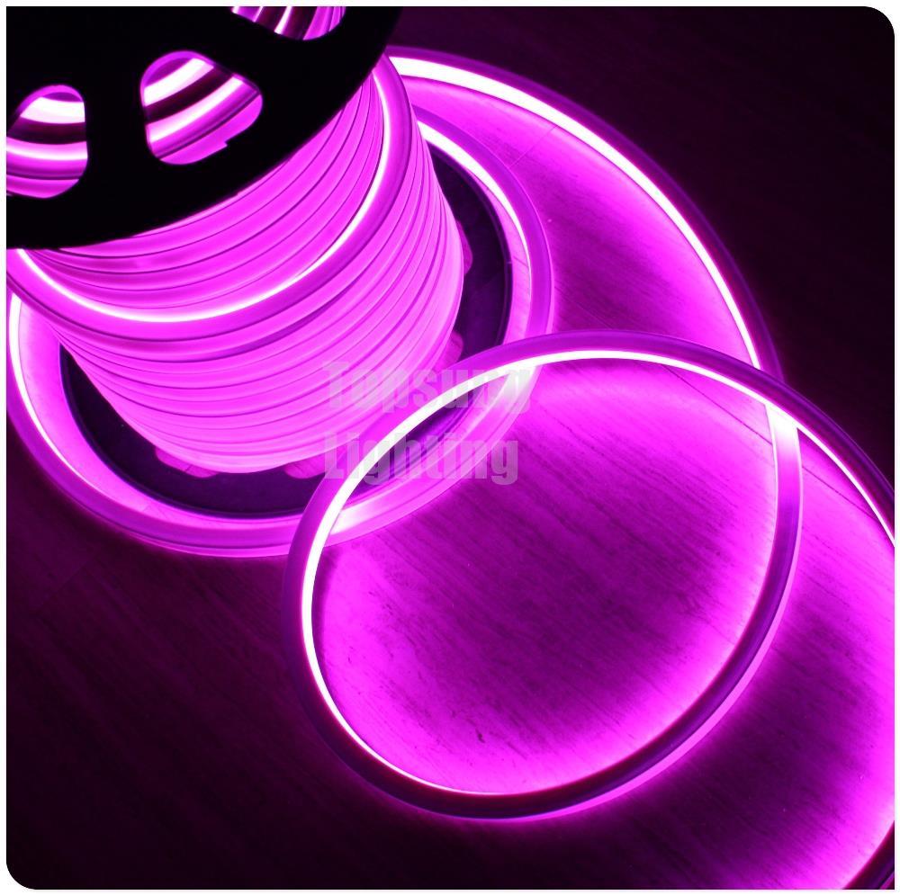 Горячая Распродажа 50 м ultral яркий smd2835 220VAC затемнения led neon flex rope прокладки квадрат 16*16 мм водонепроницаемый 230 В для наружного