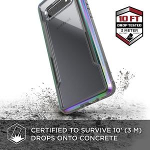 Image 2 - X ドリア防衛シールド電話ケース三星銀河 S10 プラス軍事グレードテスト保護ケース S10e アルミカバー