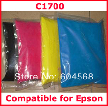 High quality compatible for Epson c1700/1700 color toner powder,4kg/lot,free shipping!