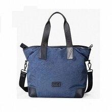 100% Genuine leather men bag waterproof nylon casual business laptop bag men messenger bags fashion travel  handbag LI-1239
