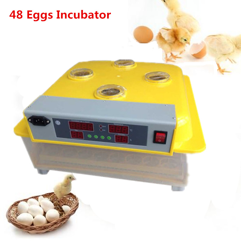 Automatic industrial chicken incubator best price quail egg hatcher hatching machine with temperature control automatic digital egg incubator mini multifunctional hatcher electric hatching machine chicken brooder