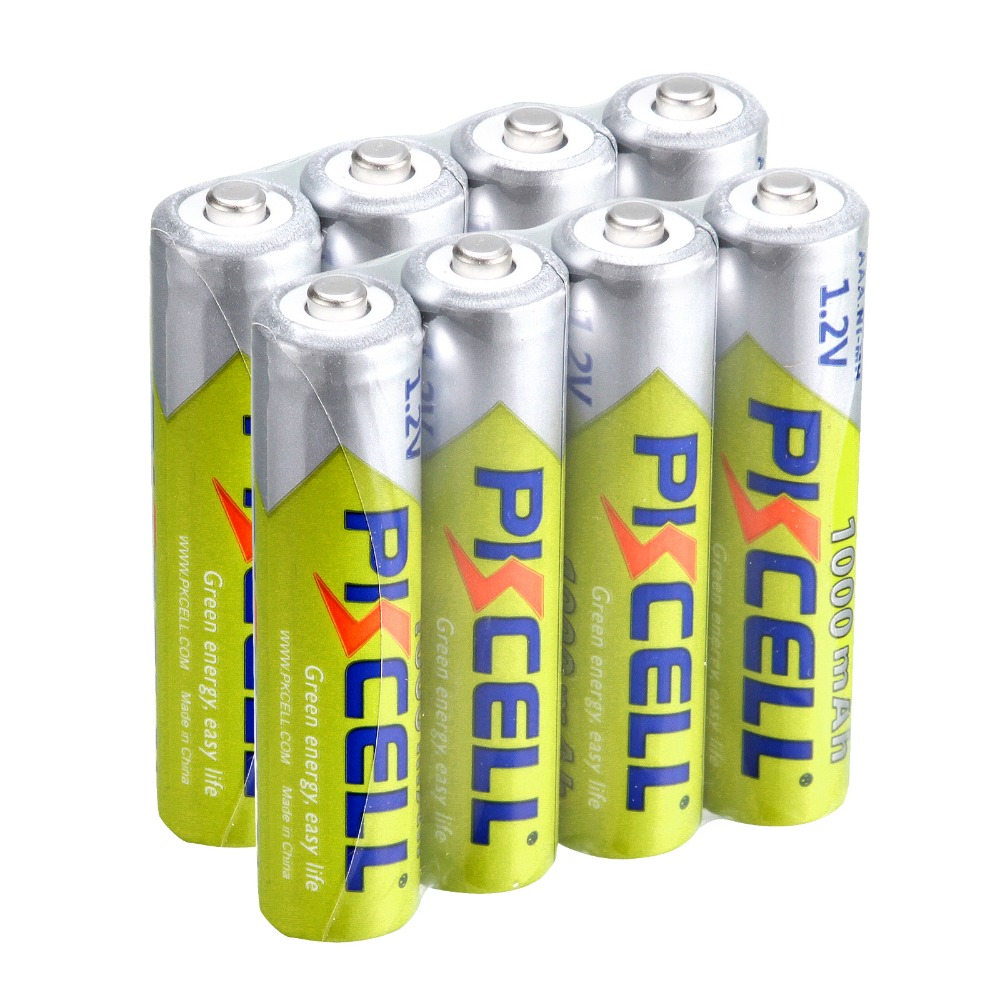 8pcs 3A Ni-MH <font><b>AAA</b></font> Batteries <font><b>1000mAh</b></font> 1.2V <font><b>AAA</b></font> <font><b>Rechargeable</b></font> Battery 3a battery for Camera Flashlight Toy image