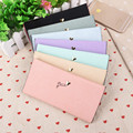 Wallet Female New PU Leather Hasp Women Wallets Purses Fashion Letter Long Coin Purse Credit Card Holder Soft Women Wallets B816