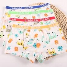 4Pc/pack Kids Boxer Gift Boys Underwear Babys Shorts Panties Boys Boxer