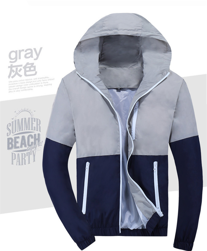 Man's Winter Fashion Jacket Hooded