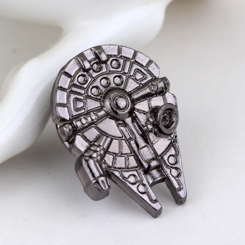 Brooch Jewelry Gift Star-Wars Wholesale High-Quality for Men's Movie Brand-Product New-Design