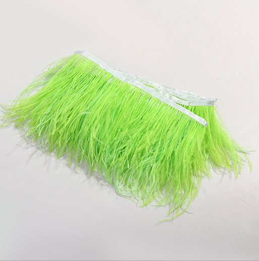 Free shipping 10M long 8-10cm height ostrich Feather trim party feather boas ostrich feathers boas !