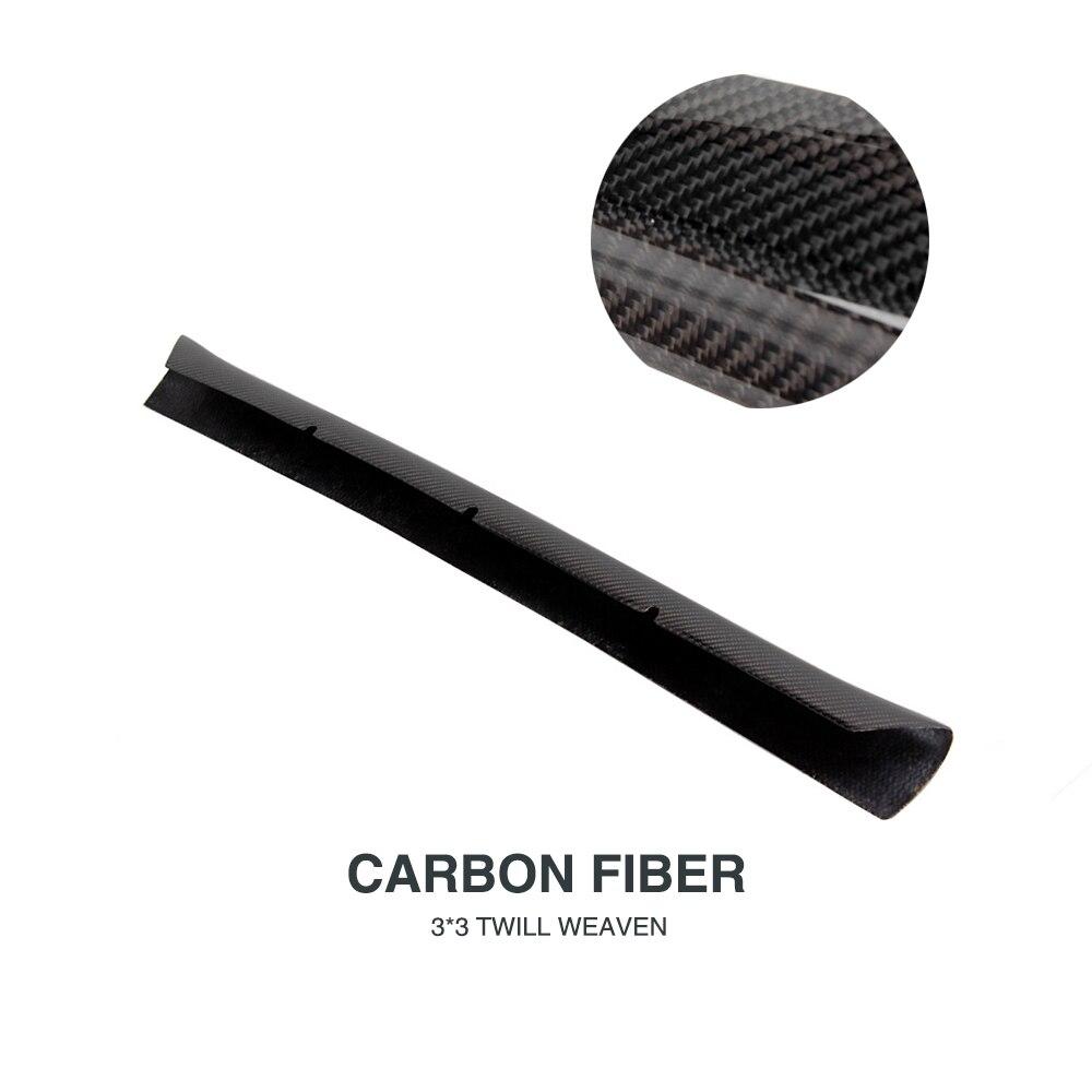 Carbon Fiber Front Bumper Chin Lip Spoiler for Audi A4 B9 Standard Bumper Sedan 4-Door 2013-2016