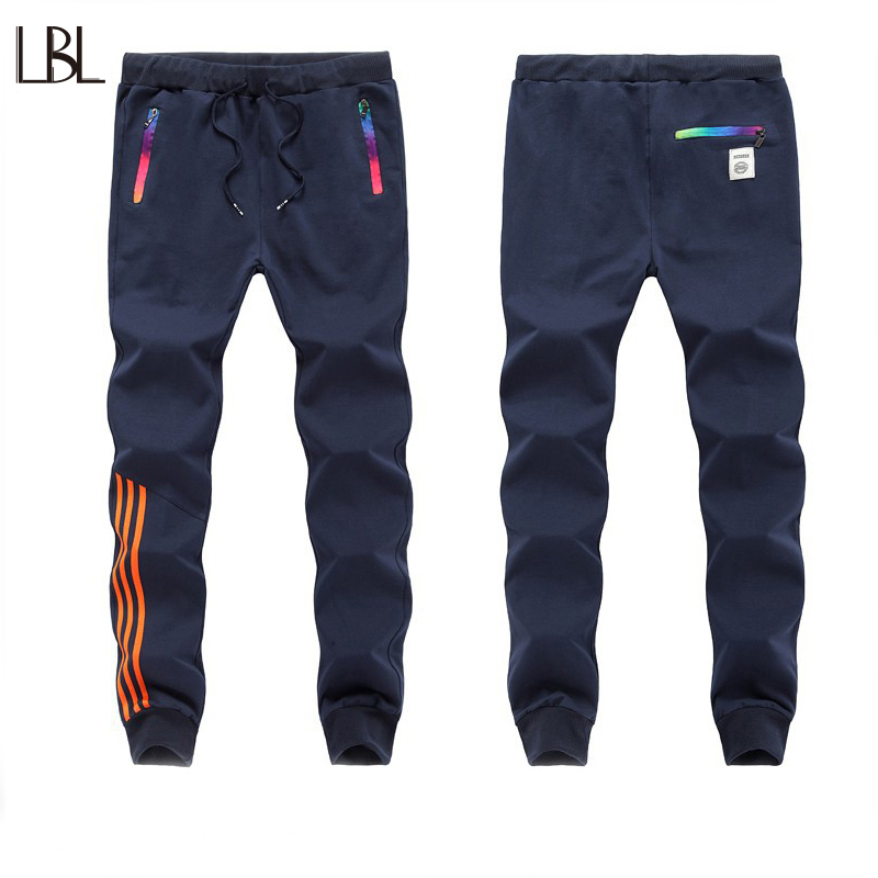 Mens Sweat Pants Straight Sweatpants Men Hip Hop Casual Striped Trousers Joggers Fitness Brand Tracksuit Bottoms Streetwear Male