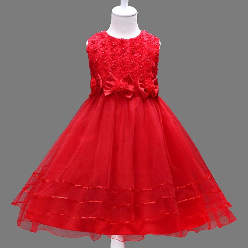 Girl party dress Christmas dress for girl 2017 summer formal girl ...