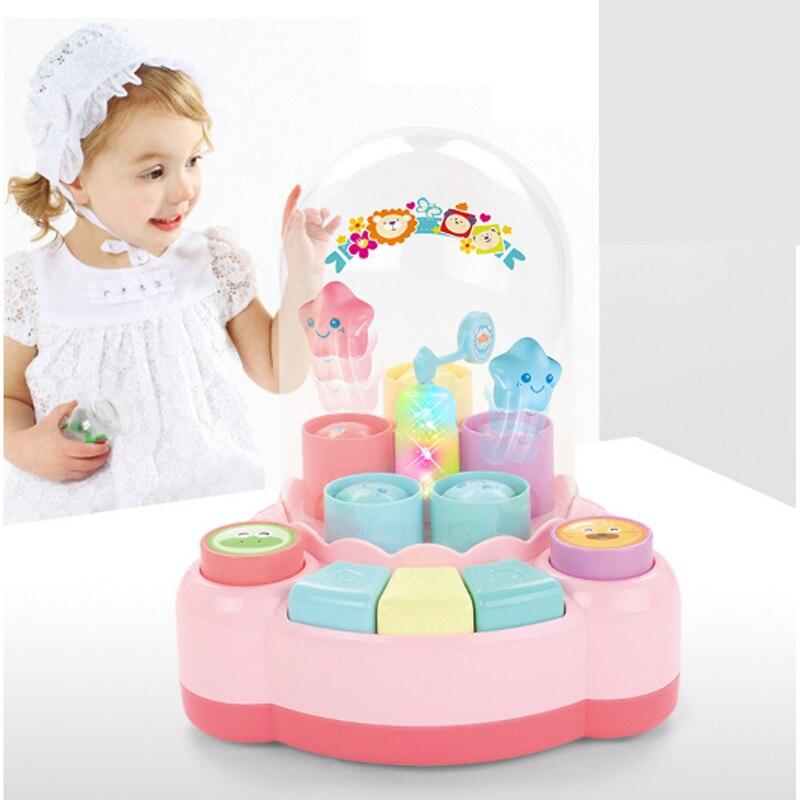 Jouet Instrument de musique enfants amusant saut Piano bébé éducation précoce Puzzle multi-fonction interactif musique Piano jouet pour enfant