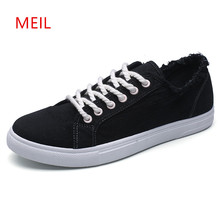 Fashion Slip on Shoes Men Canvas Loafers Student Casual Breathable Flat Mens Espadrilles  Footwear