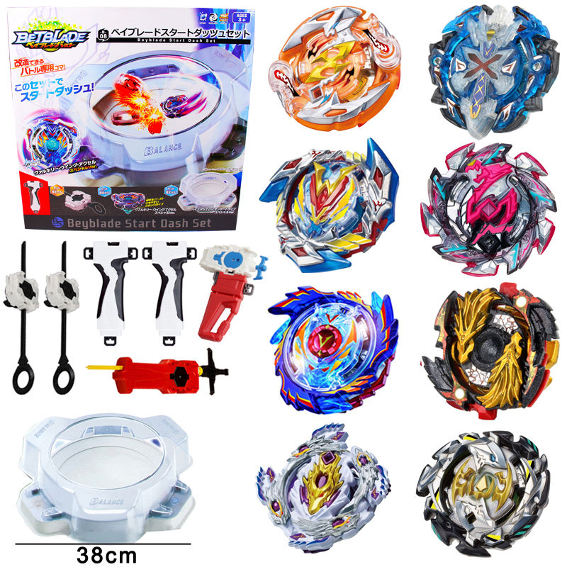 luminous beyblade burst beyblade toys glowing in the dark metal spinning top bayblade gyro launcher kids toys for children sales Arena For Metal Beyblade Bayblade Burst Toys Arena Sale Alloy Battle Gyro Hobbies Classic Spinning Top For Children Bey blade
