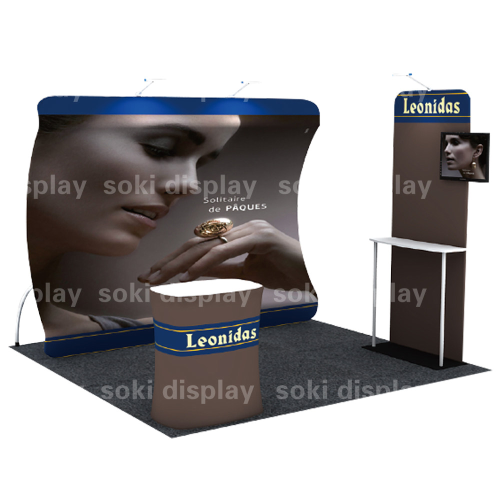 Exhibition Shell Scheme For Sale : 4x3 aluminum standard modular shell scheme trade show expo display