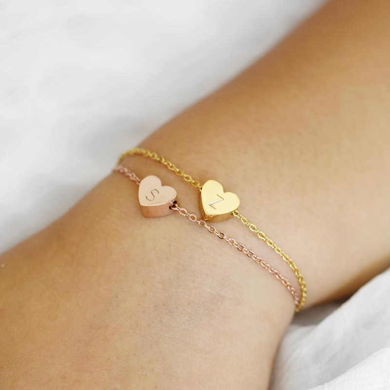 Flower Girl Bracelet Kids Bracelet Initial Necklace Baby Girl Jewelry Flower Girl Gift Charm Bracelet Dainty Gold Popular Jewelr