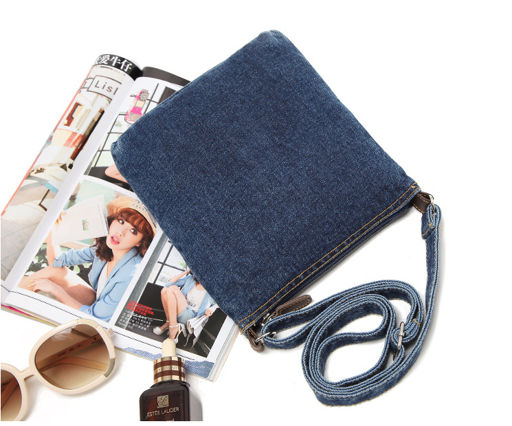 Cotton Denim Design New Fashion women handbag designers brand female shoulder bags women messenger bags mini bag bolsas