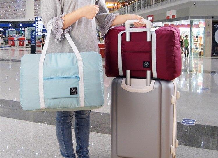 Fast Shipping WaterProof Large Capacity Travel Bag Women Nylon Folding Bag Men Travel Bags Luggage Travel Handbags nesesser