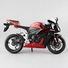 Clássico 1:12 escala maisto honda cbr 600rr cbr600rr diecast modelo moto motocicleta corrida veículos réplica super bicicleta hobby jogo brinquedo