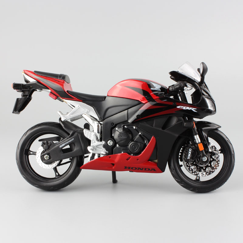 Classic 1:12 Scale Maisto Honda CBR 600RR CBR600RR Diecast Model Moto Motorcycle Race Vehicles Replica Super Bike Hobby Game Toy