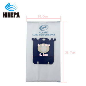 Image 3 - 10pcs S bag Dust Bags and 1pcs H12 Vacuum Cleaner HEPA Filter for Philips Electrolux FC9083 FC9087 FC9088 Vacuum Cleaner Parts