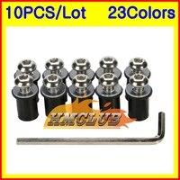 Windscreen bolts kit For HONDA CBR1000RR 08 09 10 11 CBR1000 CBR 1000 RR 2008 2009 2010 2011 Windshield bolt Fairing Nuts screws
