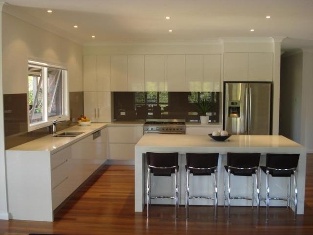 Australia 2pac kitchen cabinet both sides painting-in Kitchen ...