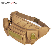 New Hot Multi-function Waist Pack High Quality Wear-resistant Nylon Bag Military Chest Bags Free Shipping