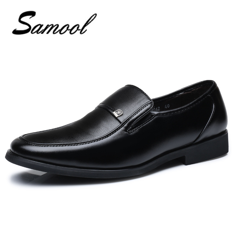 leather men shoes business leather New Fashion Men Wedding Dress Shoes Shoes Flat driving Business British slip on Men's shoes 4 goodster new men s business casual shoes genuine leather flat low men single shoes slip on shoes men