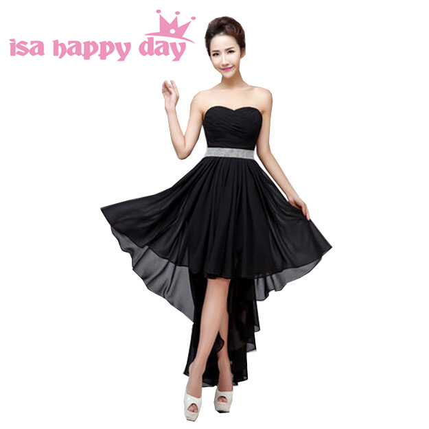 short plus size black lilac beautiful bridemaids red   bridesmaid     dresses   light purple formal women's gown for plus size H3115