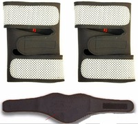 2 In 1 Tourmaline Belt Self Heating Massage Magnetic Neck Knee Pads For Relieve Pain Keeping