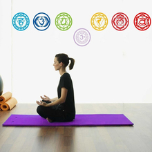 Chakras Vinyl Stickers (set of 7 pieces)- Health Aum Meditation Yoga Om Symbol Art Wall Decals home decoration