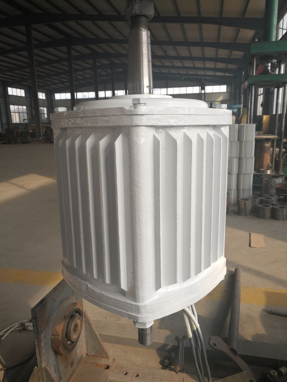 10KW/10000W 200RPM low rpm horizontal wind & hydro alternator/ permanent magnet water power dynamotor hydro turbine