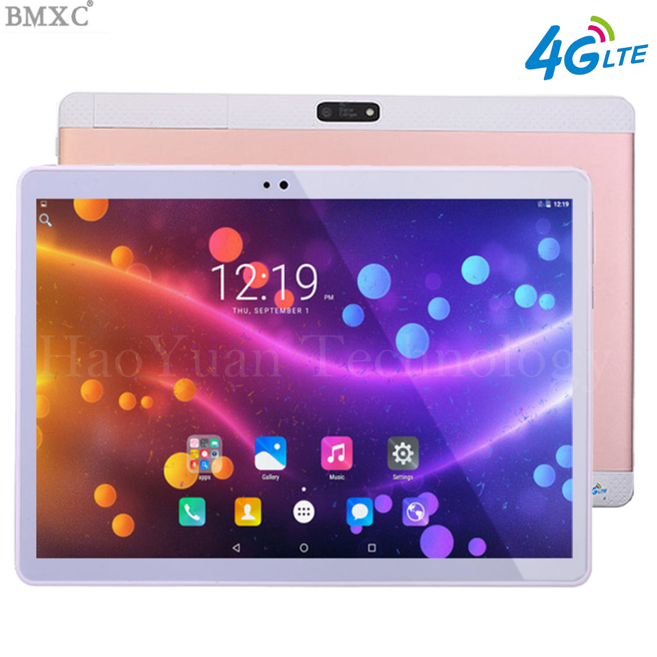 все цены на New 4G tablet pc 10.1 inch 3G 4G Metal Tablet Android tablet Octa Core 1920*1200 WIFI GPS children Tablet 4G 10 10.1 онлайн