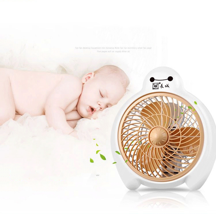 Mignon Baymax Mini ventilateur pour la maison/bureau 2 vitesses réglable vitesse Ventilador vent naturel ventilateur de bureau électrique