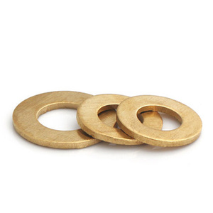 Image 2 - M10 M12 M14 M16 M18 M20 M22 M24 M30 Brass gasket washers flat pad thickened gaskets meson 20mm 54mm Outside Diameter