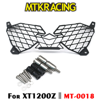 MTKRACING For YAMAHA XT1200Z XT 1200 Z Super Tenere 2010 2018 Motorcycle modification Headlight Grille Guard Cover Protector
