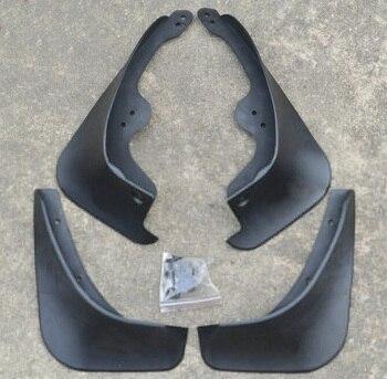 4 stks Spatranden Spatborden Spatlappen Fenders Set Voor Toyota YARIS 2009-2013