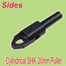 Freies Shiping 20mm Zylinderschaft Bereich 3 ~ 45mm CNC Bar Puller Heraus Produktion Auto Link Einfachste Einstellung Up für Drehmaschine