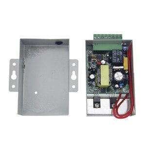 Image 5 - 12V 3A adattatore di alimentazione 10 tag impermeabile Biometrico di Impronte Digitali RFID reader 125KHZ EM IC 13.56mhz serratura Della Porta sistema di Controllo di accesso