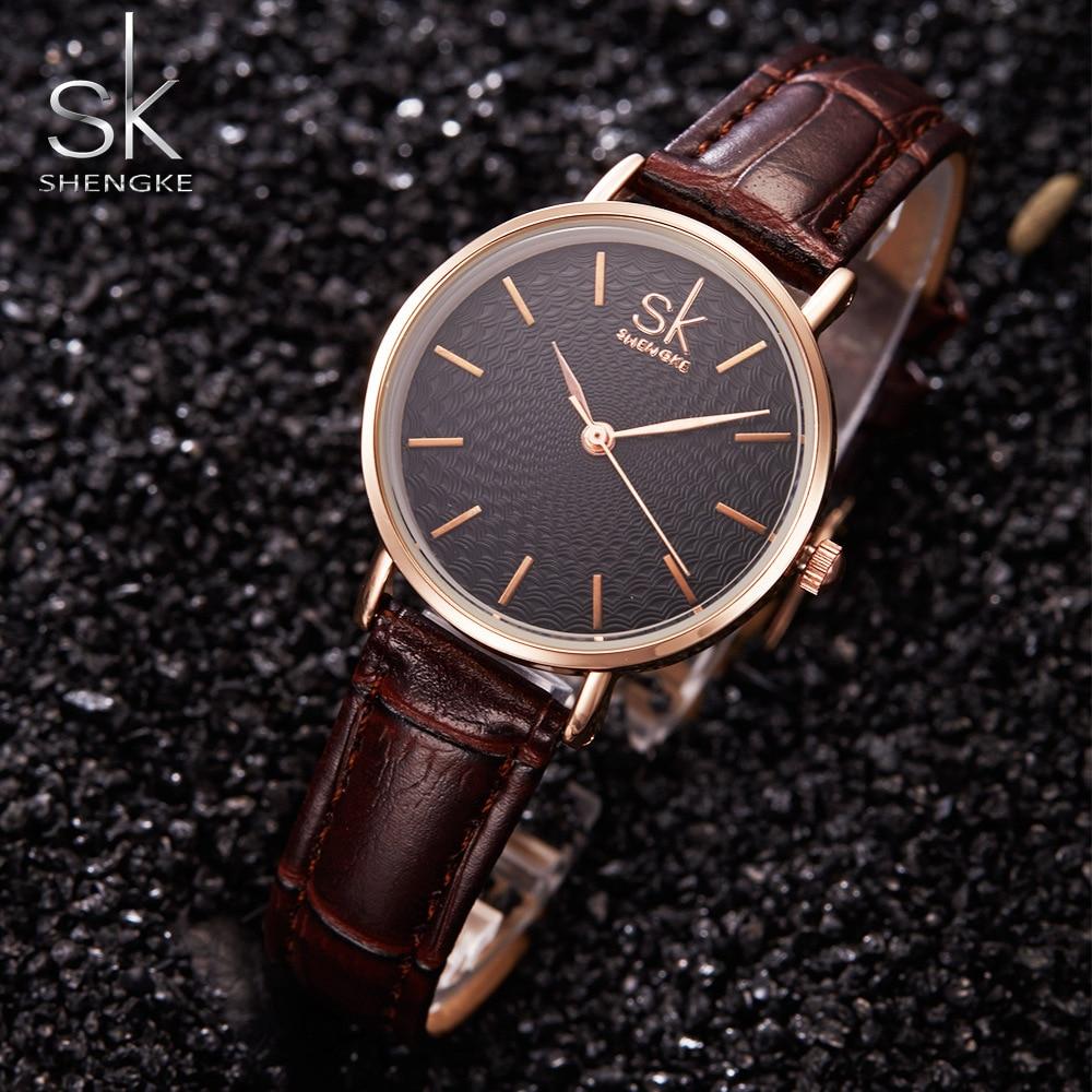 SK Super Slim Silver Mesh Stainless Steel Watches Women Top Brand Luxury Casual Clock Ladies Wrist Watch Lady Relogio Feminino 2