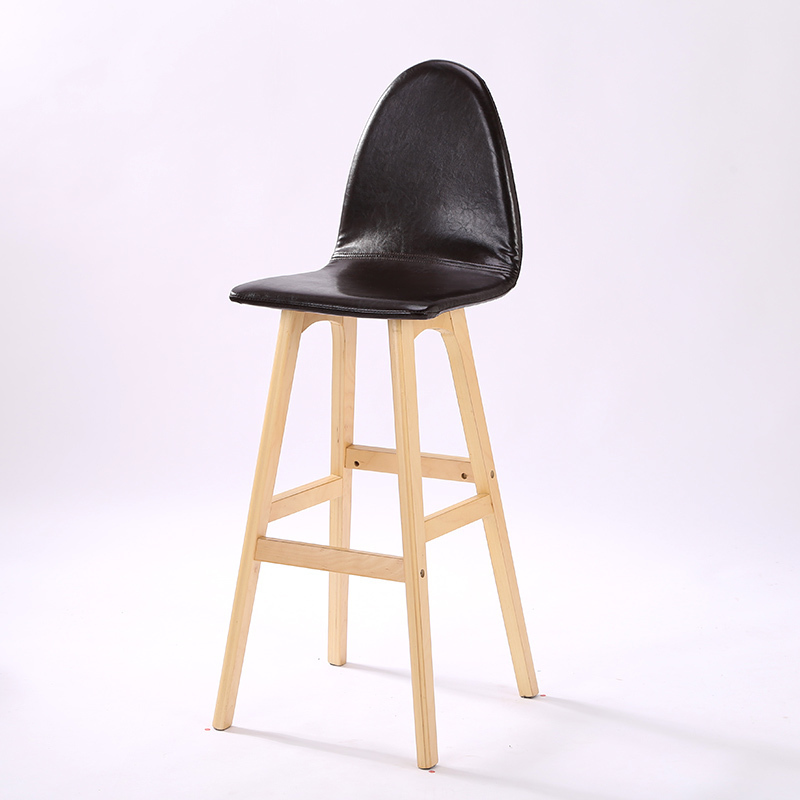 coffee house wood chair PU leather seat stool free shipping baby seat inflatable sofa stool stool bb portable small bath bath chair seat chair school