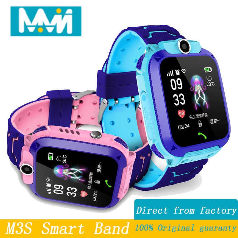 53e8bf1bef2c MMN YDS1 niño smart watch IP67 nadar teléfono táctil smart watch SOS  llamada dispositivo de localización