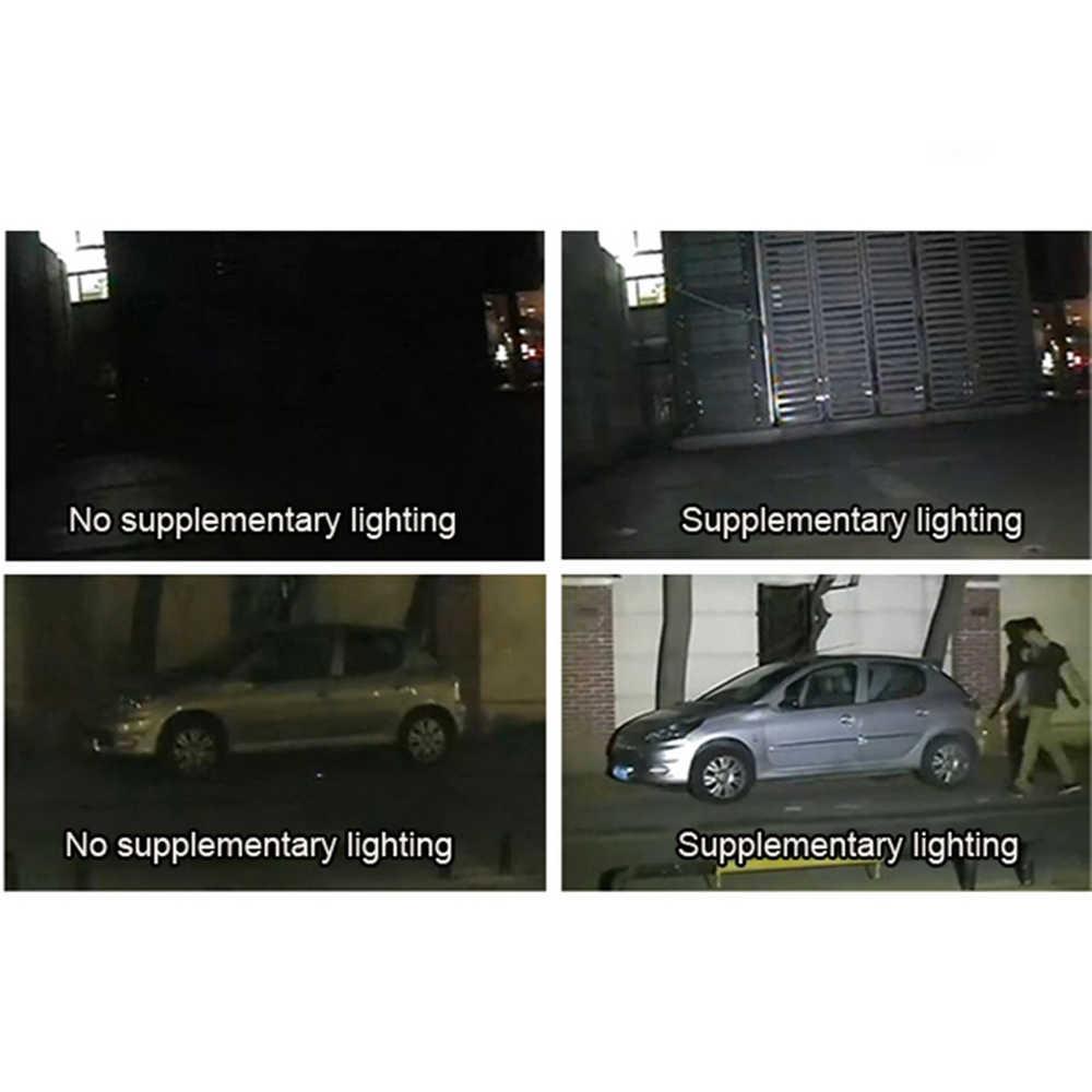 ESCAM CCTV LEDS 4 صفيف الأشعة تحت الحمراء إضاءة led إضاءة CCTV الأشعة تحت الحمراء مقاوم للماء للرؤية الليلية للأمن كاميرا استخدام 12 فولت 2A الطاقة